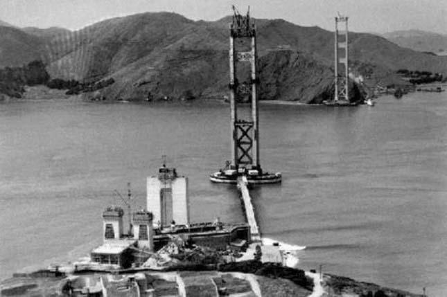 Így épült a Golden Gate