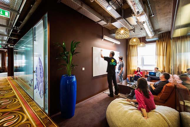 A Google dublini irodája, Írország