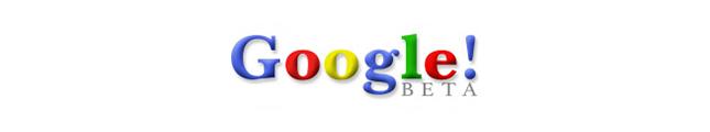 A Google embléma története
