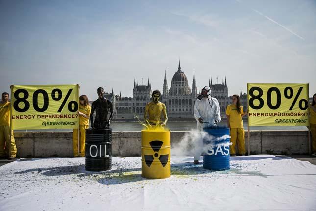 Greenpeace aktivisták