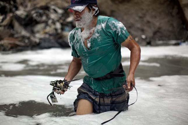 Guatemalai szemétbányászok