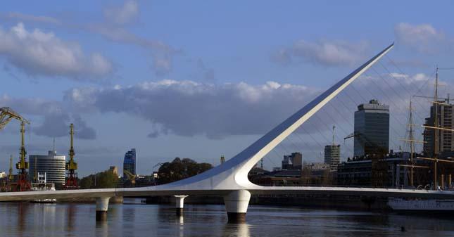 Puente de la Mujer híd, Argentína