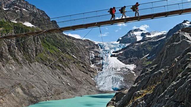 Trift híd, Svájc