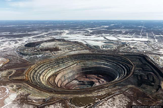 gyémántbánya - jakutföld