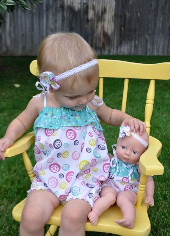 Kisgyerekek és babáik