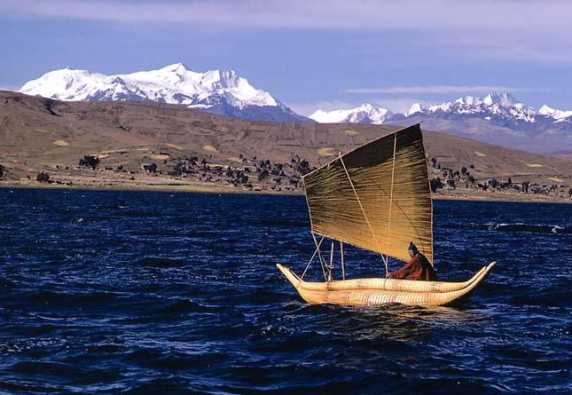Titicaca tó, Peru/Bolívia
