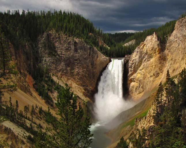 Lower Yellowstone vízesés