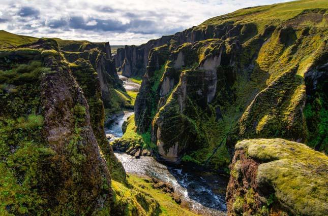 Fjaðrárgljúfurkanyon, Izland