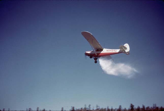 Haltelepítés repülővel
