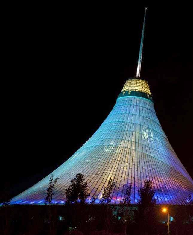 Khan Shatyr, a legnagyobb sátor a világon