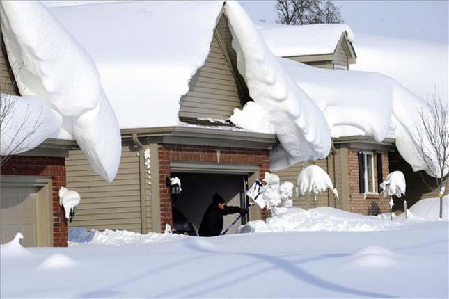 Hóviharok az Egyesült Államokban