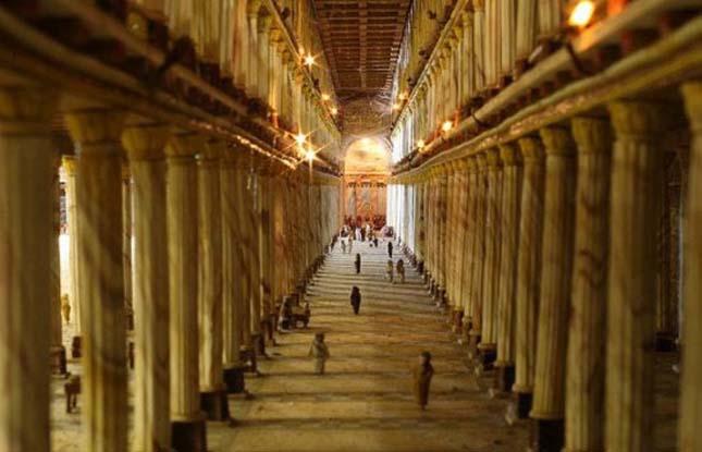 Heródes templomának makettje