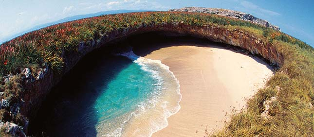 Hidden Beach, Mexikó
