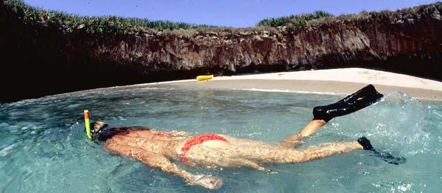 Hidden Beach, Mexikó