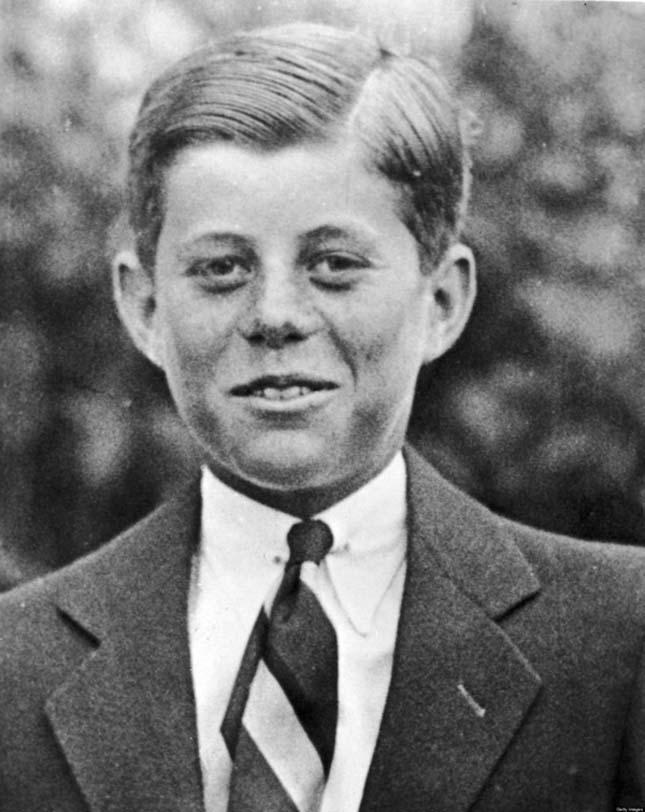 Az ifjú John. F. Kennedy