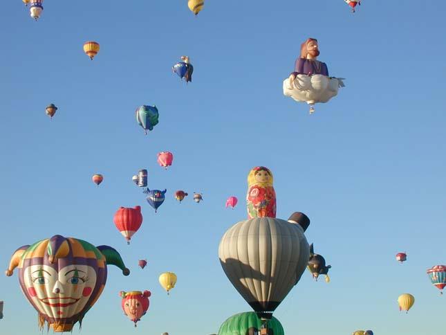 Hőlégballon fesztivál