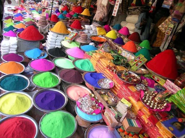 Holi, a színek fesztiválja