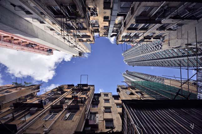 hongkongi felhőkacolók