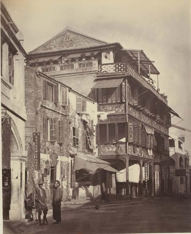 Hong Kong 1868-ban
