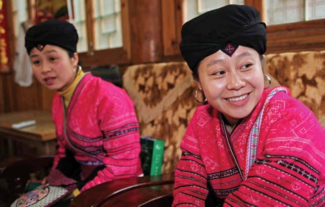 A hosszú hajú nők faluja