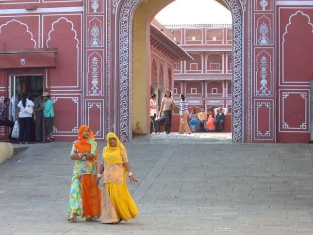 Jaipur, a rózsaszín város