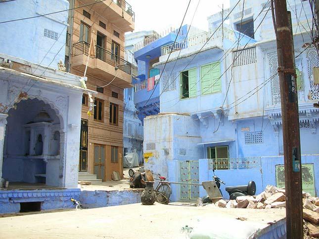 Jodhpur, Kék Város
