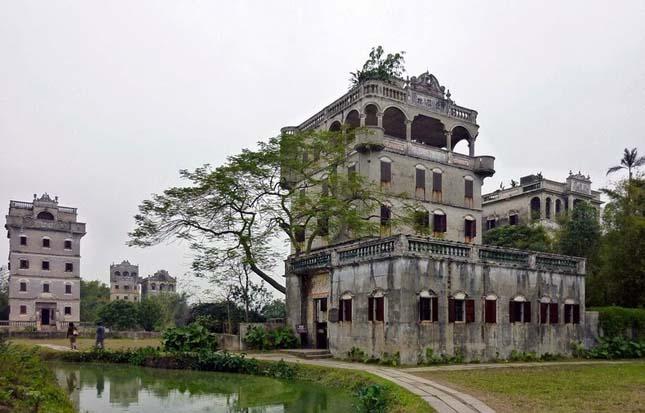 Kaiping tornyai