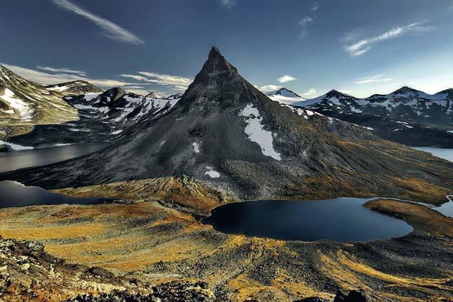 Norvég tájkép