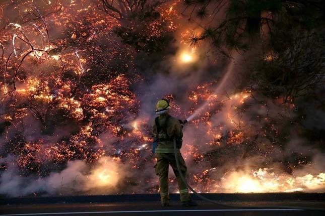 Kaliforniai erdőtűz