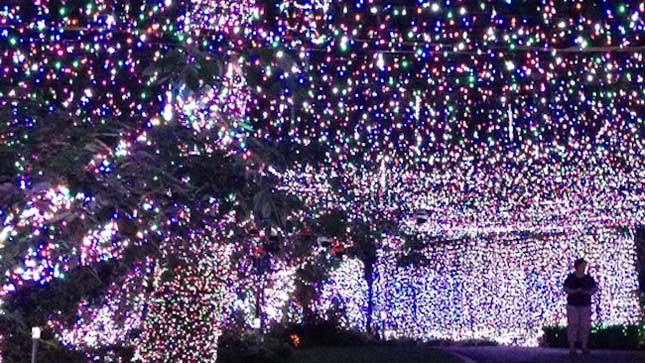 Karácsonyi világítás