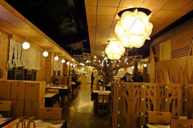 Karton étterem, Tajvan
