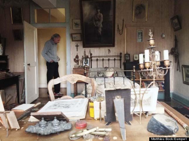A francia katona szobája