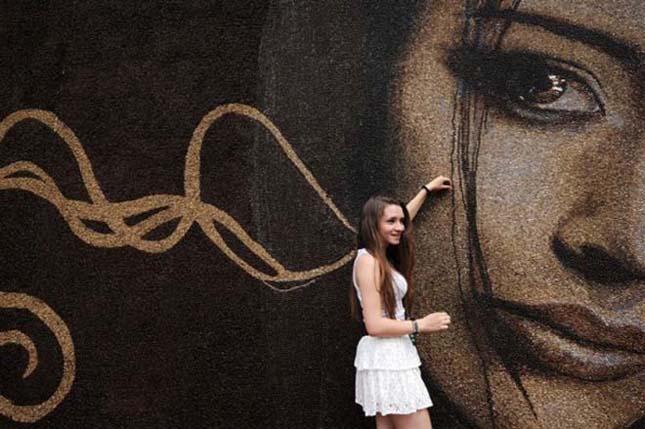 Világrekordott döntött a moszkvai kávébab portré