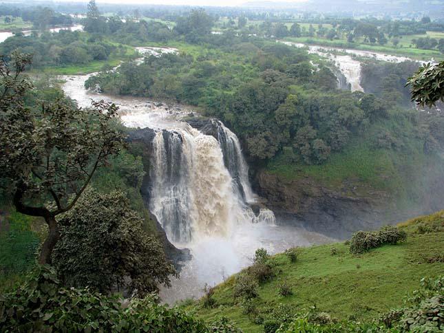 Kék-Nílus vízesés