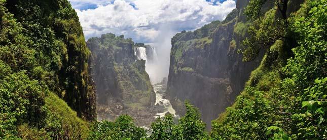 Viktória-vízesés, Afrika