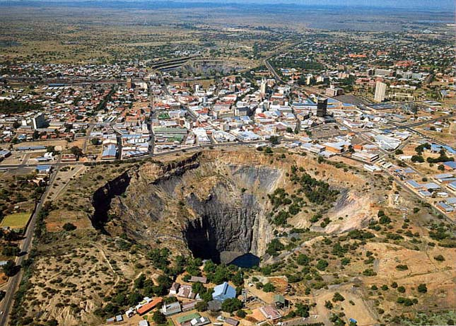 Kimberly Mine, a Nagy Lyuk