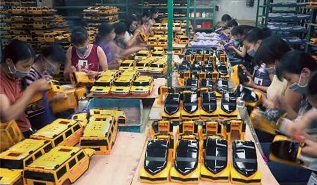 Kínai játékgyárak