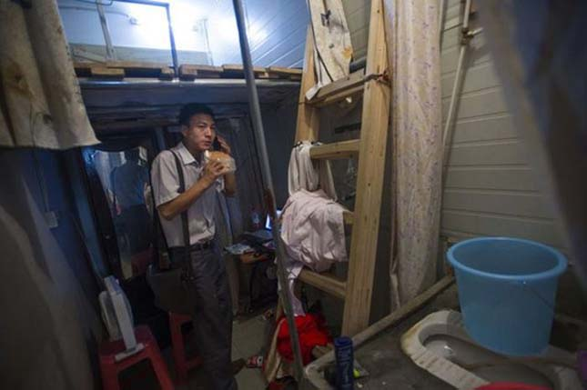 Kínai mini lakások