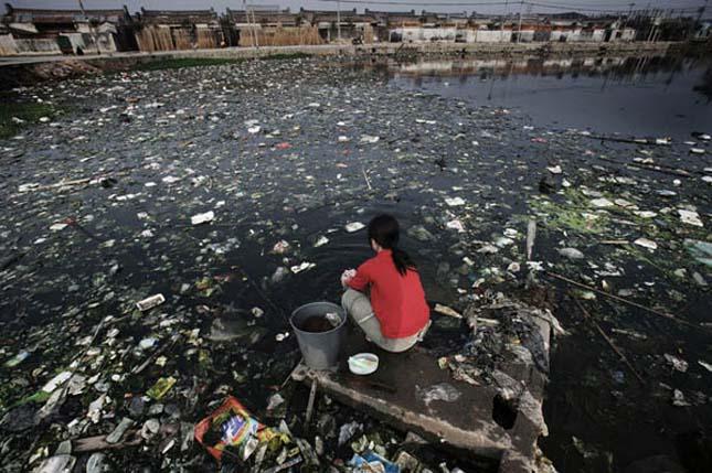 Kínai vízszennyezés