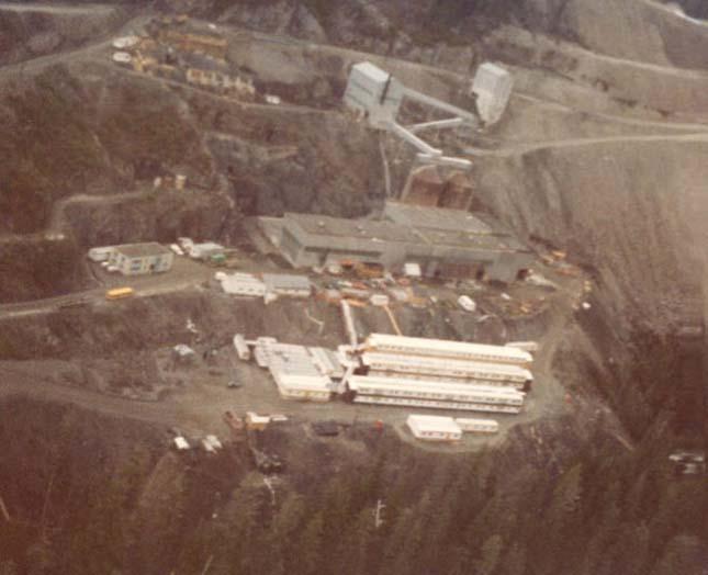 Kitsault, elnéptelenedett bányaváros