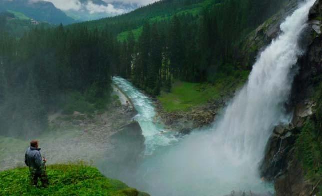 Krimml-vízesés