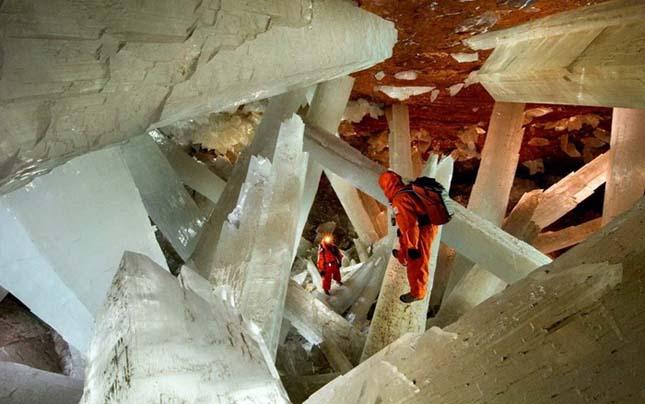 Kristálybarlang Mexikóban