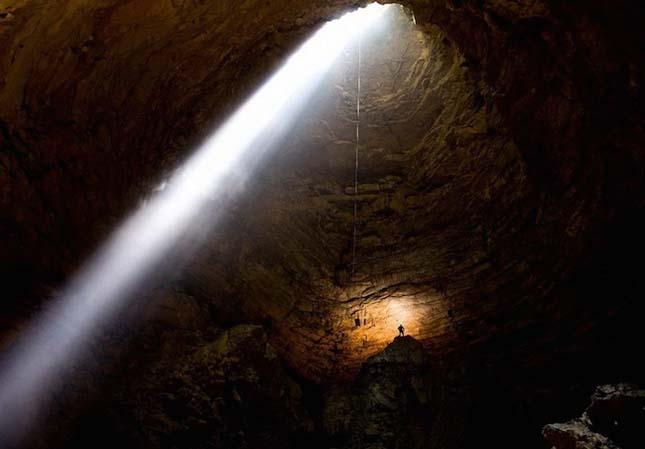 Krubera barlang