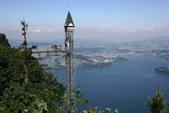 Hammetschwand, Európa legmagasabb kültéri liftje