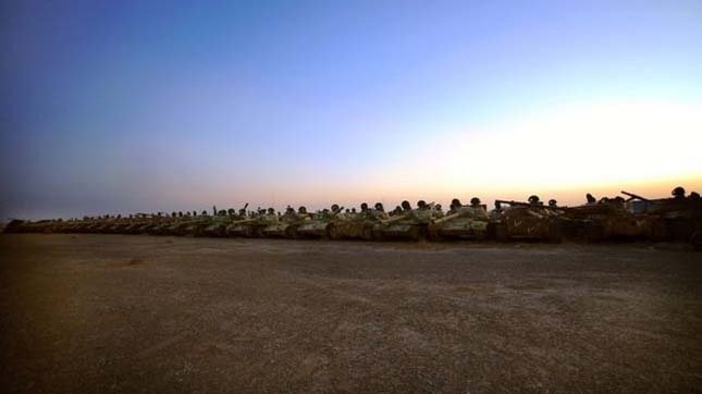 Tanktemető Kuvaitban