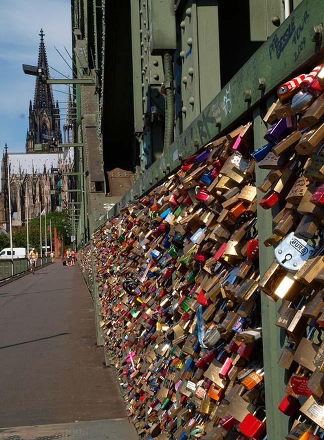 Hohenzollernbrücke, Köln