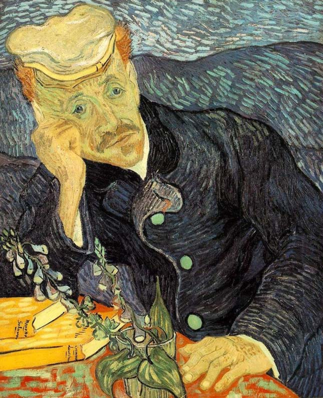 Vincent van Gogh - Dr. Gachet arcképe