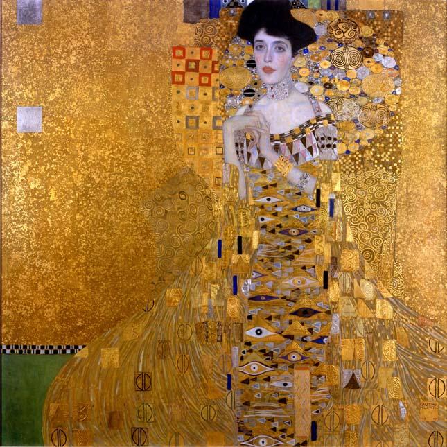 Gustav Klimt - Adele Bloch-Bauer I portréja