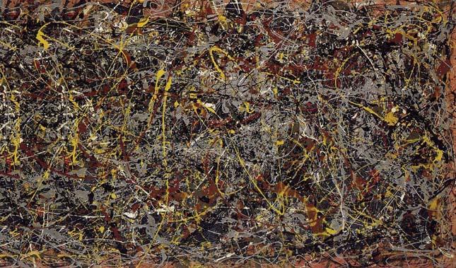 Jackson Pollock - No. 5, 1948