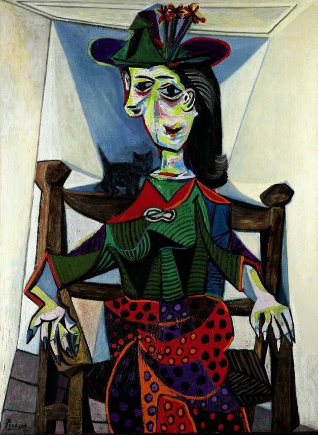 Pablo Picasso - Dora Maar macskával